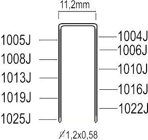 K200310 Agrafes J 1010J